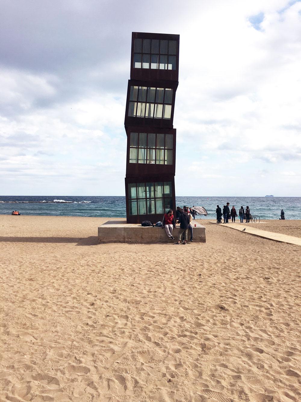 Barceloneta Beach, Barcelona | The Good Living Blog #barcelona