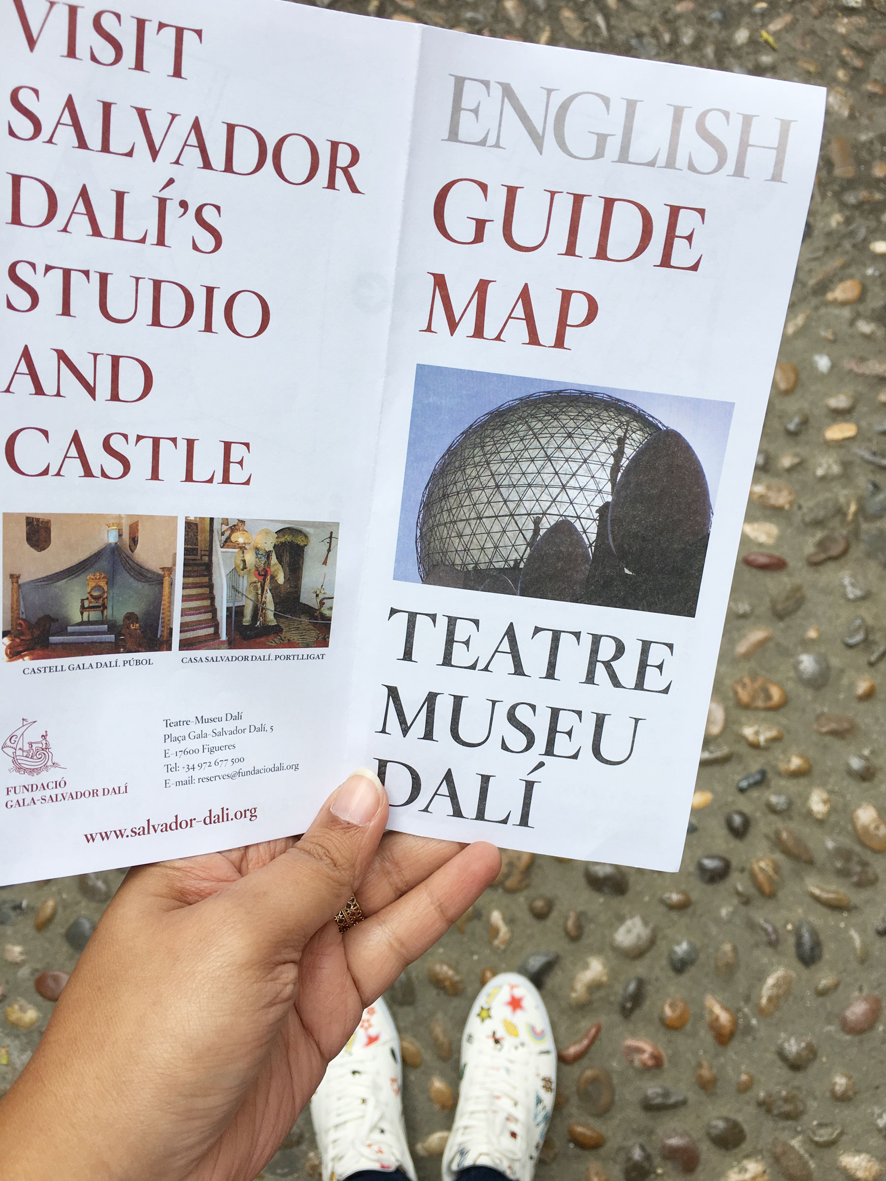 Day trip from Barcelona - Dali museum in Figueres. #daytripfrombarcelona #dalimuseum #figueres