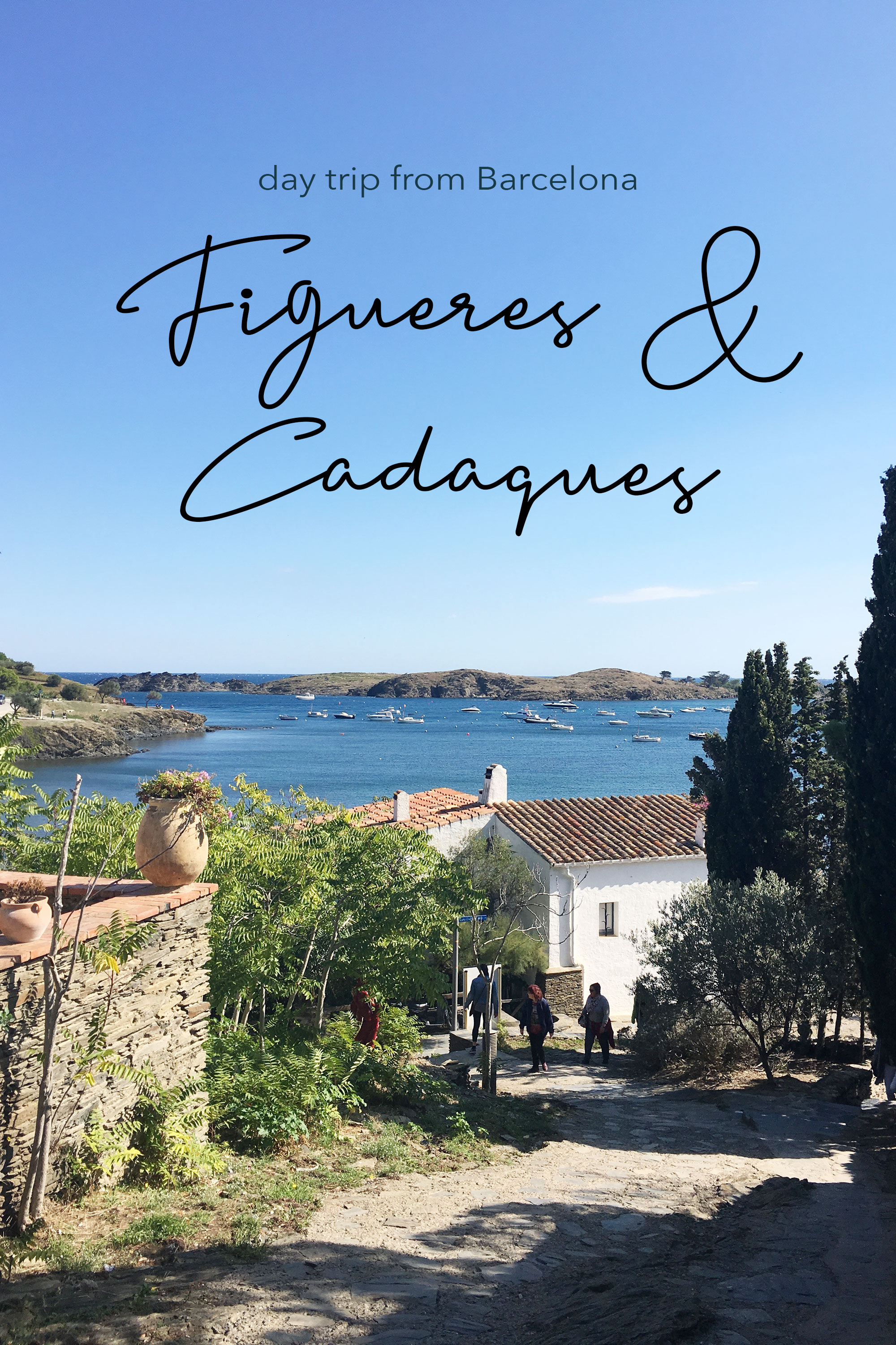 Day trip from Barcelona to Figueres and Cadaques #daytripfrombarcelona #cadaques #dalimuseums || Good Living Blog