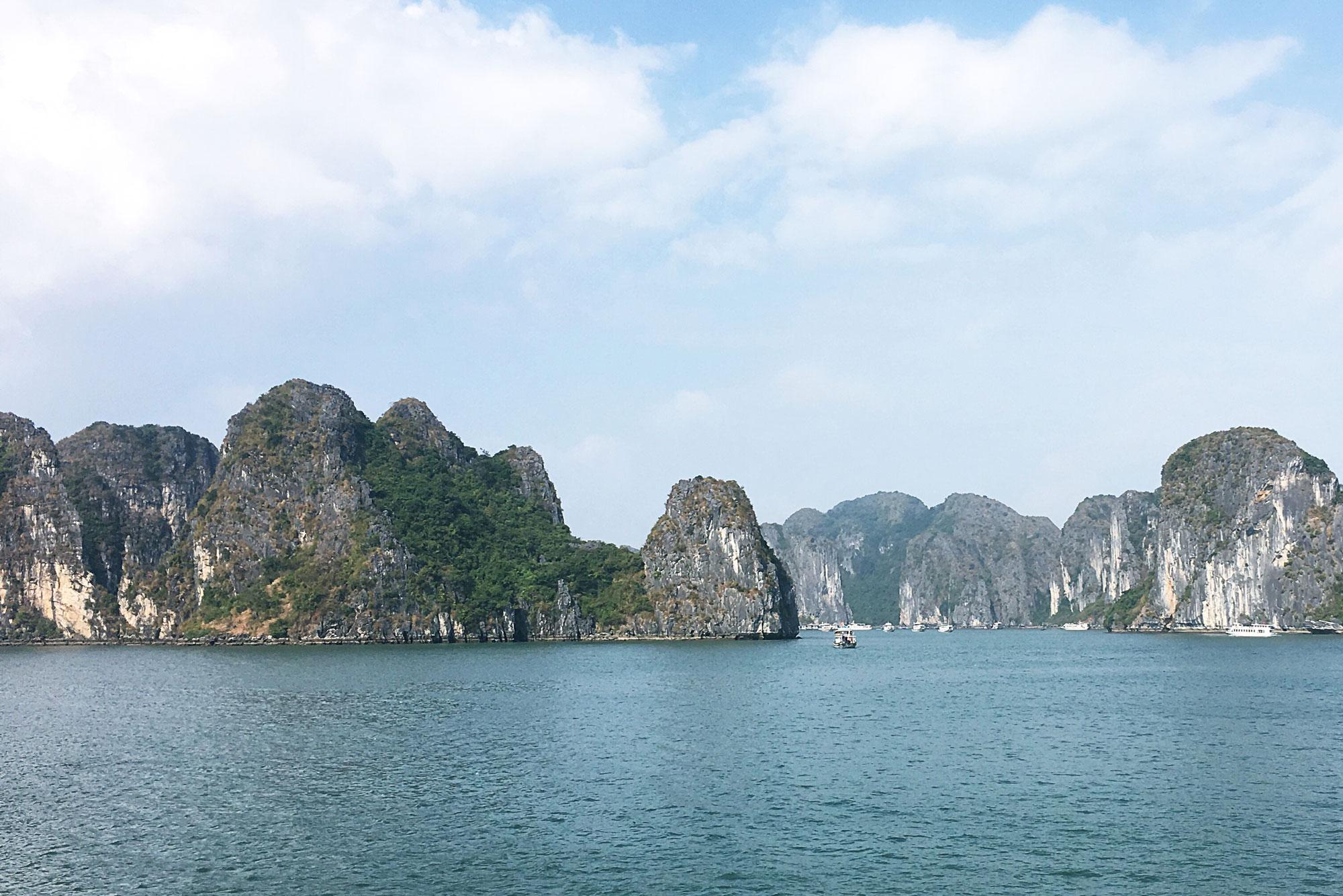 Halong Bay. 6 Days in Vietnam