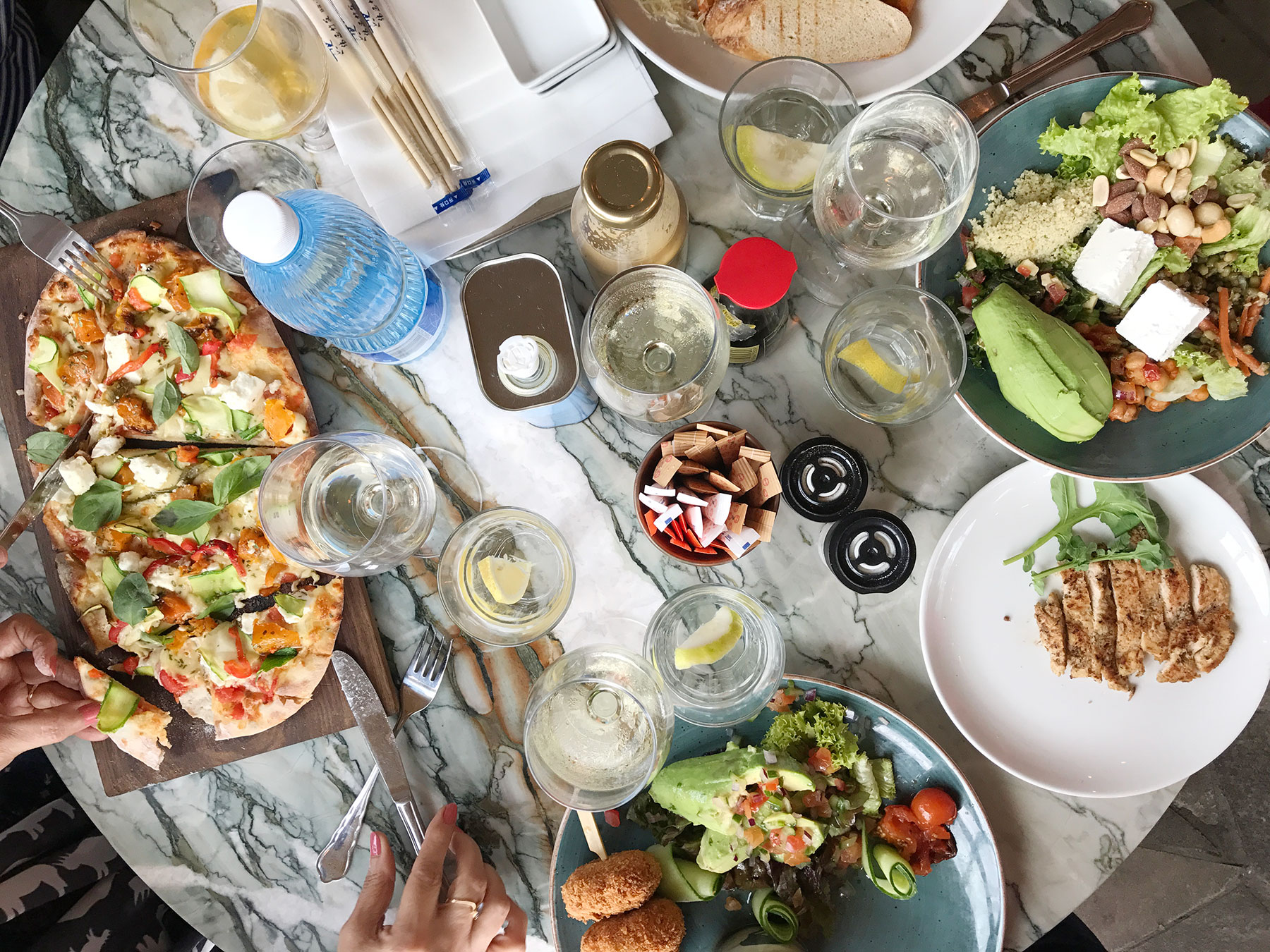 A sampling of the delicious food that we had when in South Africa. #capetown #southafrica #travel