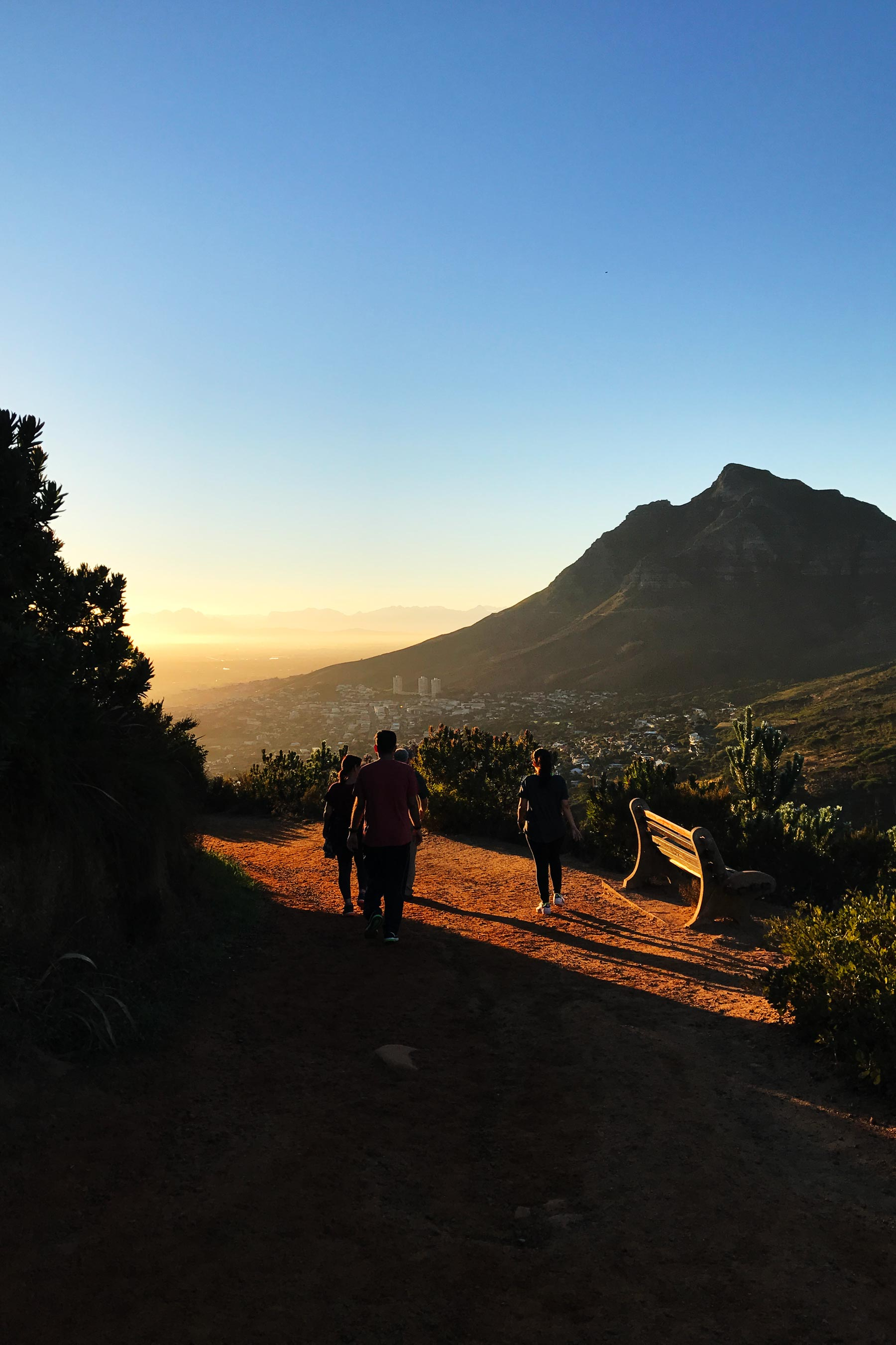 Hiking in Cape Town. A must do if you're spending 4 days in Cape Town. #capetown #travel