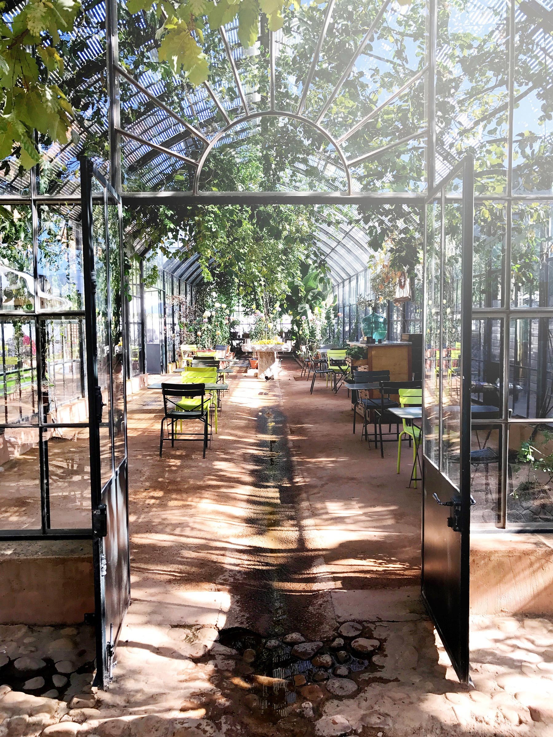 The Greenhouse at Babylonstoren. What a gorgeous setting for a meal. Franschhoek made for a lovely part of our 10 days in South Africa. #southafrica #travel #franschhoek
