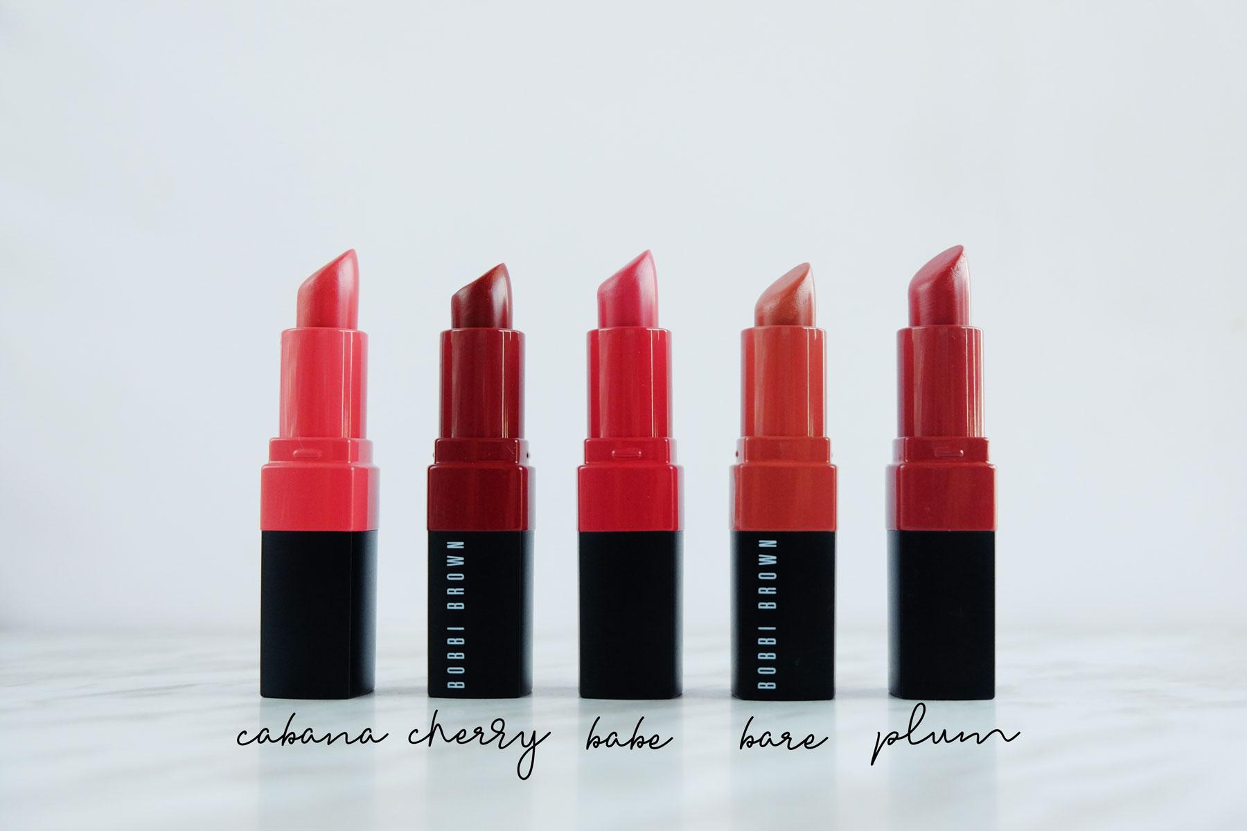 The perfect everyday wear lipsticks - the Bobbi Brown Crushed Lipsticks range. #bobbibrown #lipstick #makeup