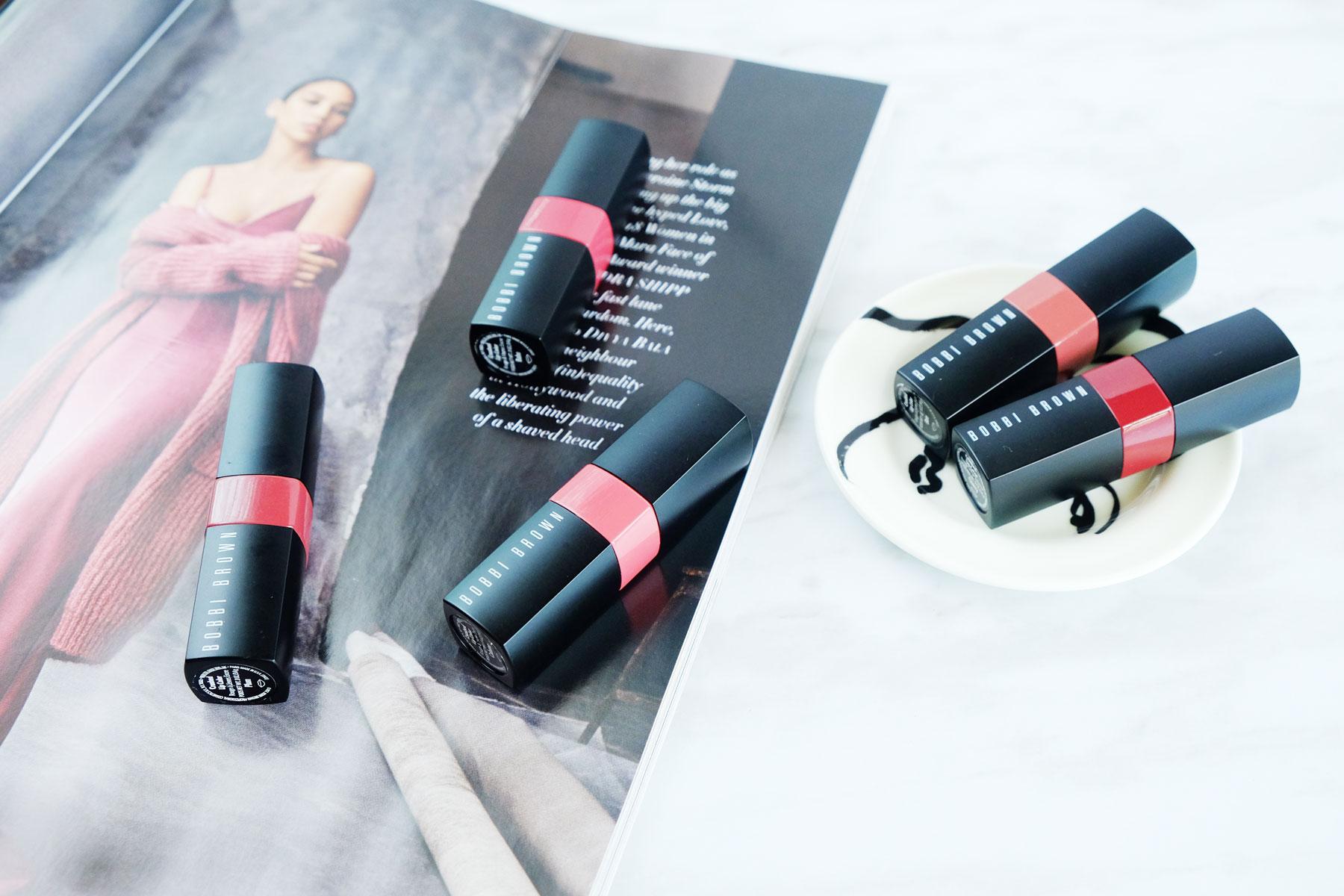 The perfect everyday wear lipsticks - the Bobbi Brown Crushed Lipstick range. #bobbibrown #lipstick #makeup