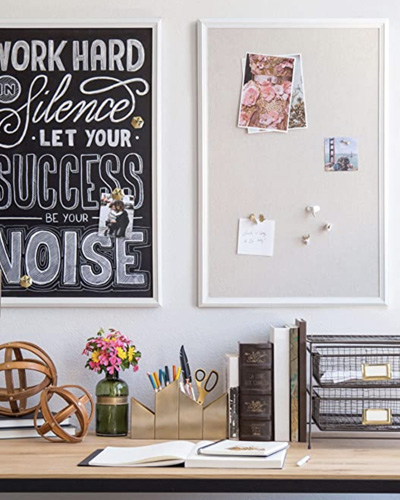 A cost-effective pinboard to make your own vision board