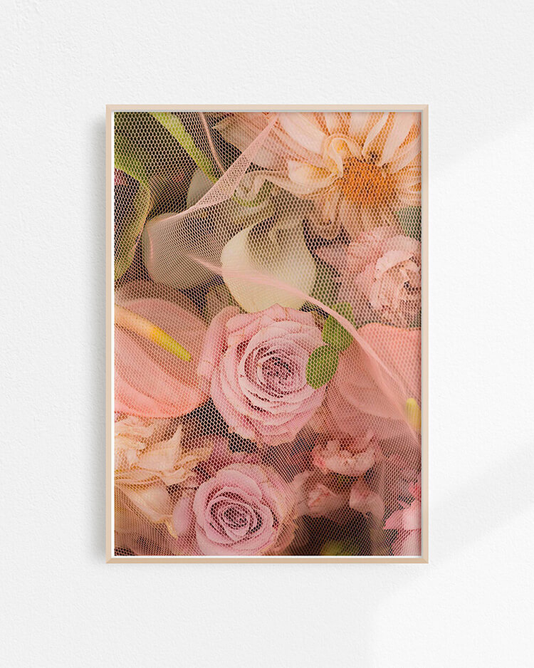 floral art print options for your home